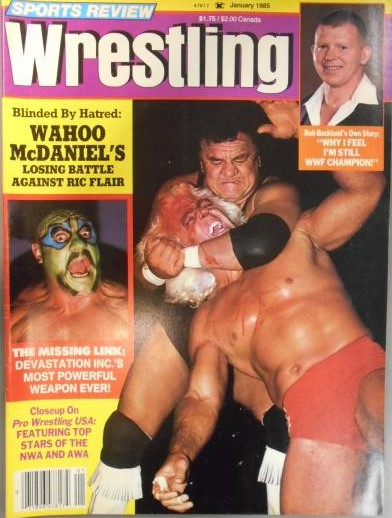 Sports Review Wrestling - January 1985