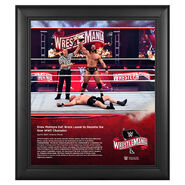 WrestleMania 36 Drew McIntyre 15 x 17 Limited Edition Plaque