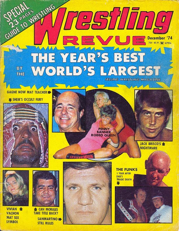 Wrestling Revue - December 1974