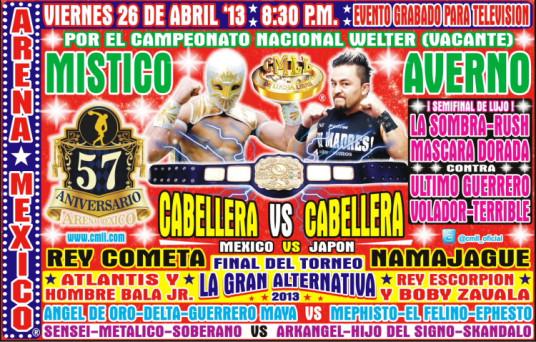 Arena Mexico 57th Anniversary Show