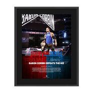 Baron Corbin Survivor Series 2017 10 x 13 Commemorative Photo Plaque