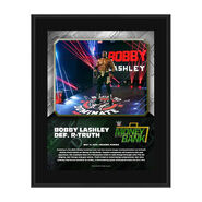 Bobby Lashley Money In The Bank 2020 10 x 13 Limited Edition Plaque