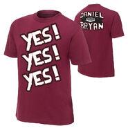 Daniel Bryan Yes Authentic T-Shirt