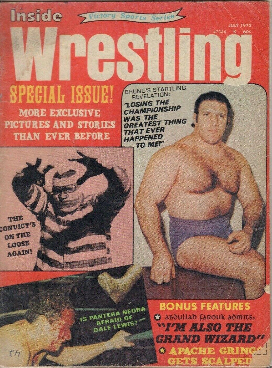 Inside Wrestling - July 1972