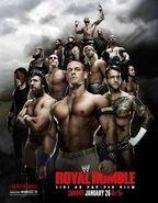 Royal Rumble 2014 Poster