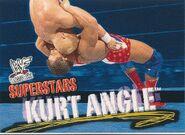 2001 WWF WrestleMania (Fleer) Kurt Angle 51