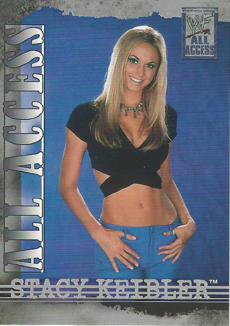 2002 WWF All Access (Fleer) Stacy Keibler (No.42)