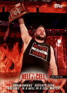 2018 WWE Road to WrestleMania Trading Cards (Topps) Kevin Owens 6