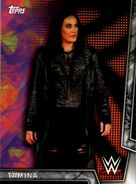 2018 WWE Women's Division (Topps) Tamina 31