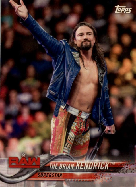 2018 WWE Wrestling Cards (Topps) The Brian Kendrick (No.17)