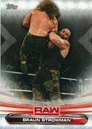 2019 WWE Raw Wrestling Cards (Topps) Braun Strowman 12