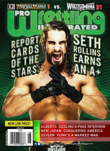 Pro Wrestling Illustrated - June 2015