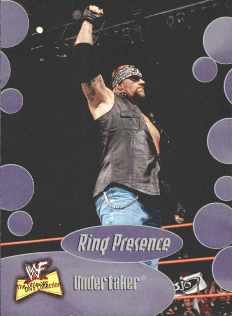2001 WWF The Ultimate Diva Collection (Fleer) Undertaker (No.59)