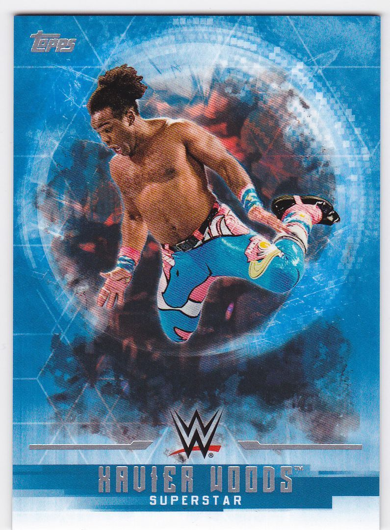 2017 WWE Undisputed Wrestling Cards (Topps) Xavier Woods (No.39)
