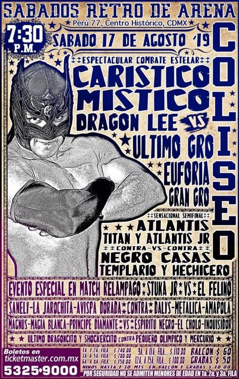 CMLL Sabados De Coliseo (August 17, 2019)