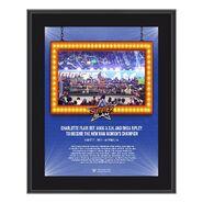 Charlotte Flair SummerSlam 2021 10x13 Commemorative Plaque