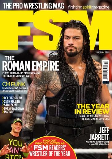 Fighting Spirit Magazine 115