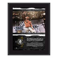 Ricochet NXT TakeOver Brooklyn 2018 10 x 13 Commemorative Plaque