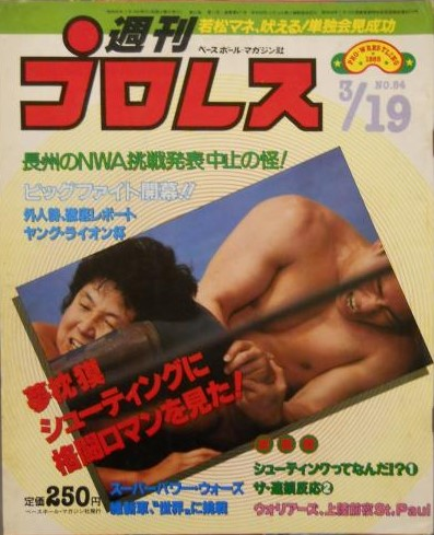 Weekly Pro Wrestling No. 84