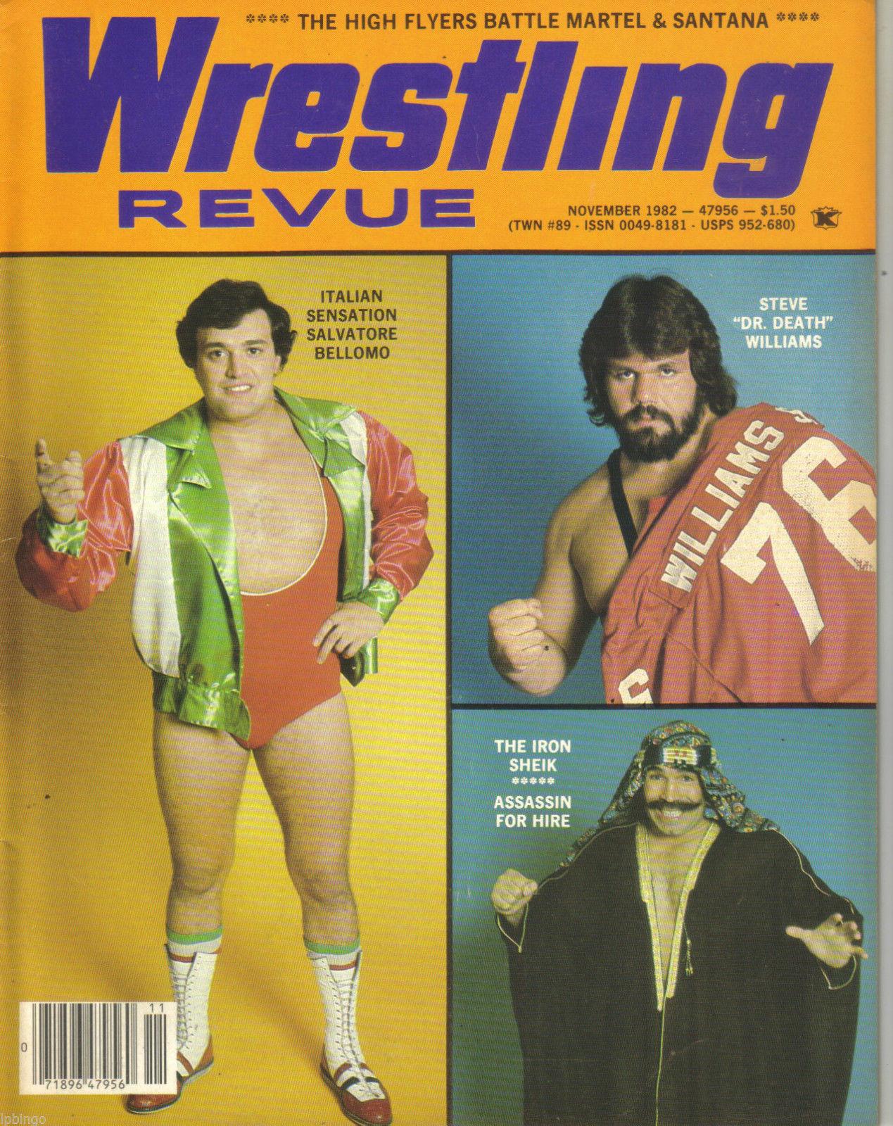 Wrestling Revue - November 1982