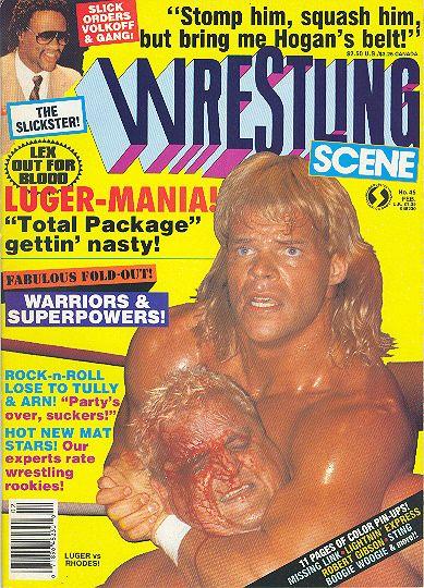 Wrestling Scene - February 1988