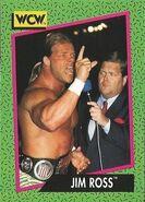 1991 WCW (Impel) Jim Ross 155