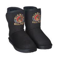 Bianca Belair Est of WWE Crystal Logo Women's Cuce Boots