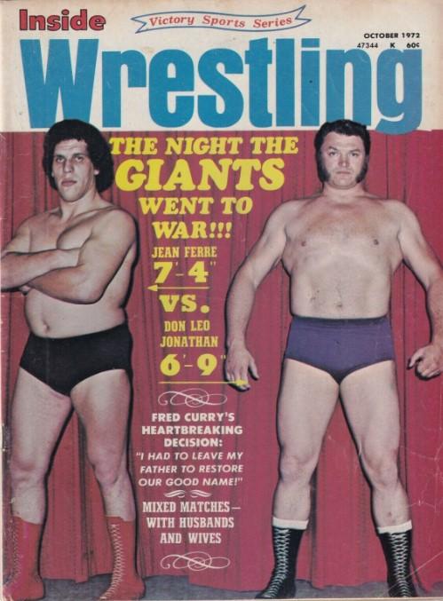 Inside Wrestling - October 1972