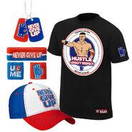 John Cena Hustle Loyalty Respect Youth T-Shirt Package