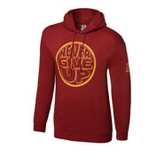 John Cena Never Give Up Red Pullover Hoodie Sweatshirt