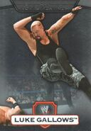 2010 WWE Platinum Trading Cards Luke Gallows 7