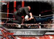 2017 WWE Road to WrestleMania Trading Cards (Topps) Triple H 35