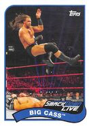2018 WWE Heritage Wrestling Cards (Topps) Big Cass 11
