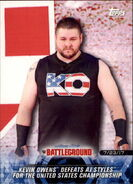 2018 WWE Road to Wrestlemania Trading Cards (Topps) Kevin Owens 95