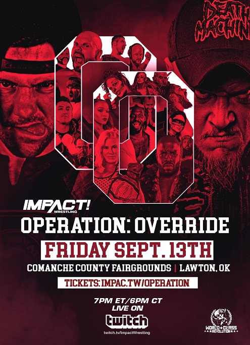 Impact Wrestling-WCR Operation: Override