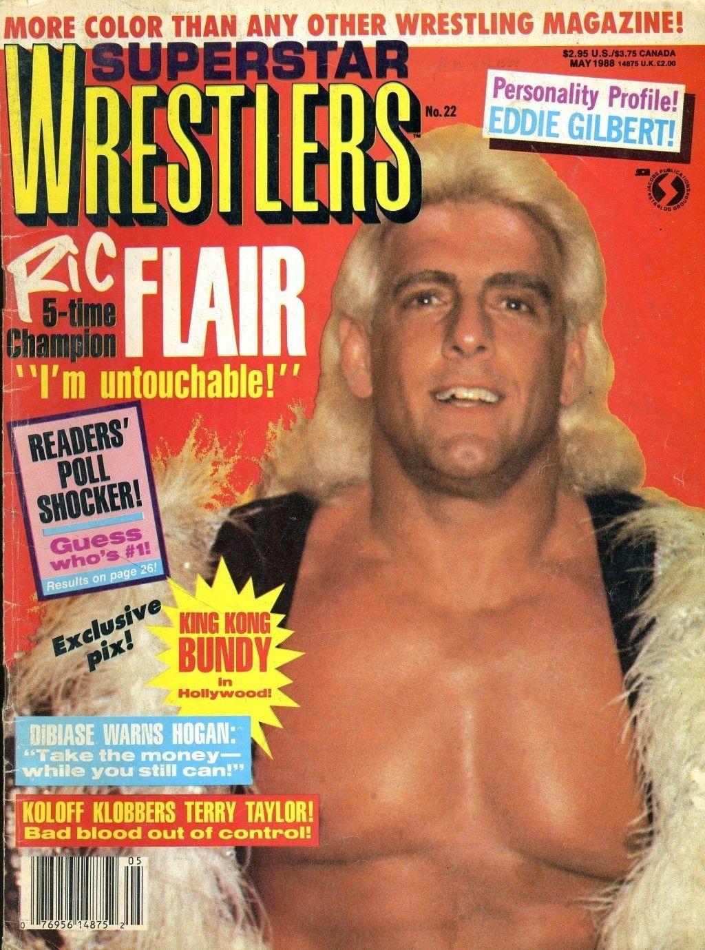 Superstar Wrestlers - May 1988