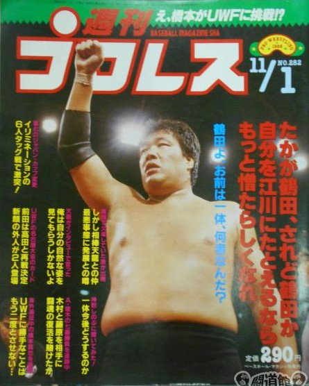 Weekly Pro Wrestling No. 282
