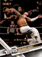 2017 WWE (Topps) Then, Now, Forever No Way Jose 176