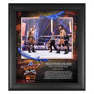 Drew McIntyre SummerSlam 2020 15x17 Commemorative Plaque
