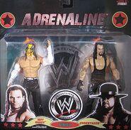 WWE Wrestling Adrenaline Series 37 Jeff Hardy & The Undertaker