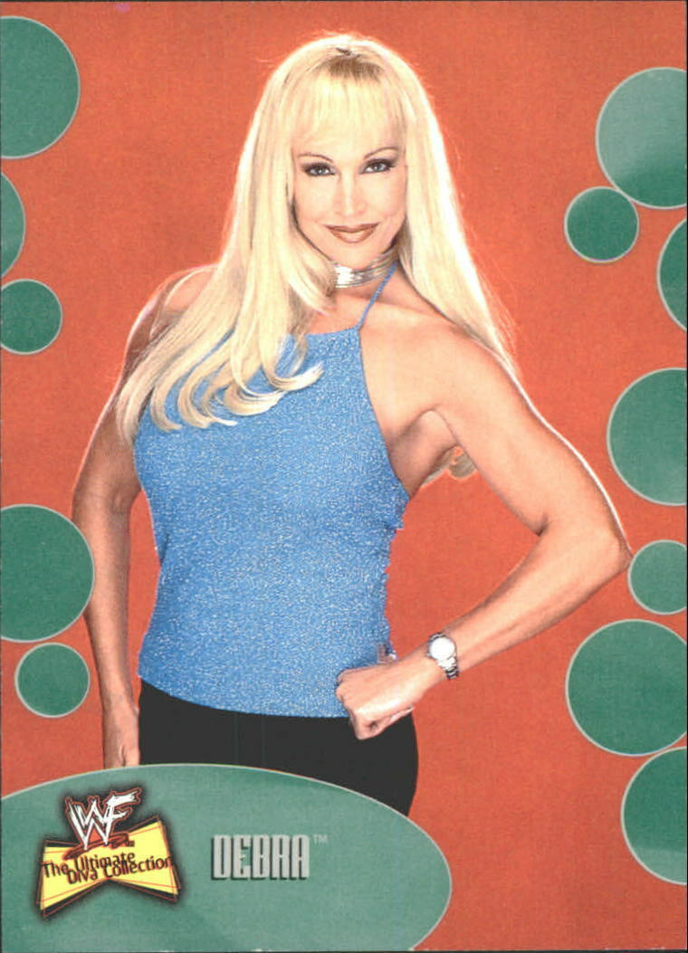 2001 WWF The Ultimate Diva Collection (Fleer) Debra (No.30)