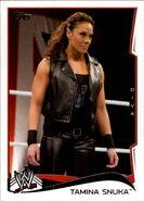2014 WWE (Topps) Tamina Snuka 49