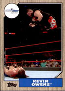2017 WWE Heritage Wrestling Cards (Topps) Kevin Owens 25