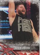 2017 WWE Road to WrestleMania Trading Cards (Topps) Kevin Owens 23