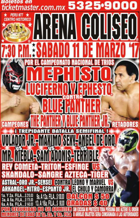CMLL Sabados De Coliseo (March 11, 2017)