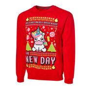 The New Day Unicorn Ugly Holiday Sweatshirt