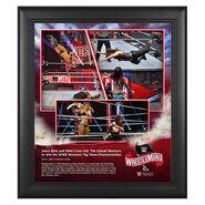 WrestleMania 36 Alexa Bliss & Nikki Cross 15 x 17 Limited Edition Plaque