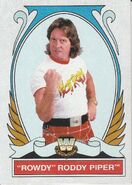 2008 WWE Heritage IV Trading Cards (Topps) Rowdy Roddy PIper 81