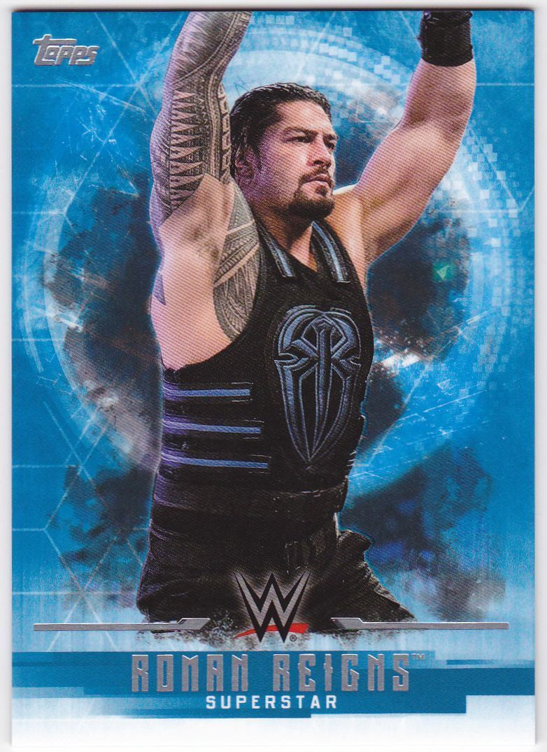 2017 WWE Undisputed Wrestling Cards (Topps) Roman Reigns (No.30)