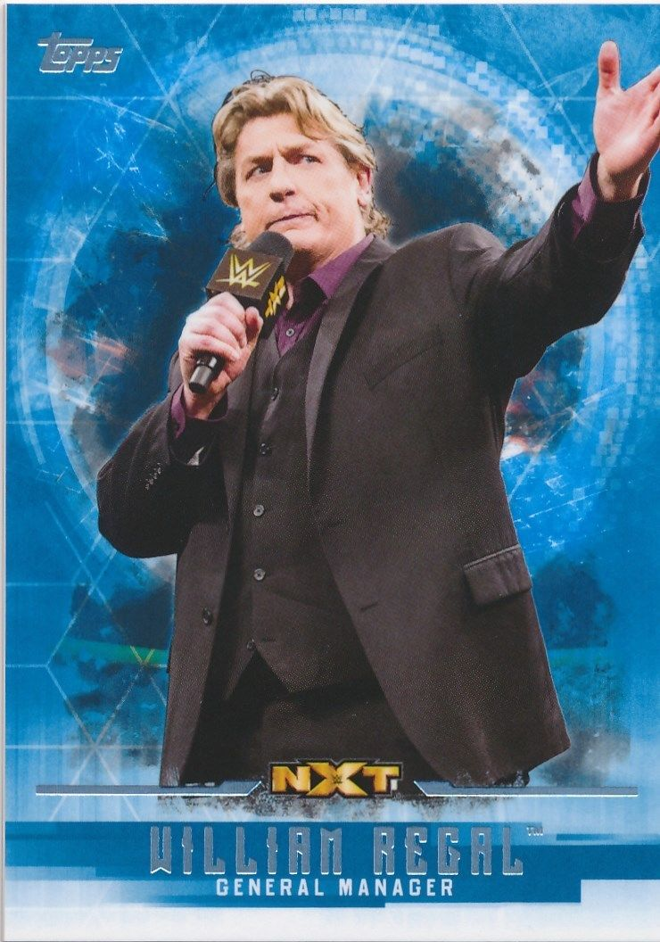 2017 WWE Undisputed Wrestling Cards (Topps) William Regal (No.60)